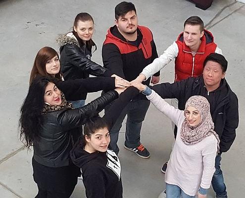 Gruppenfoto Projekt Cultural Mainstreaming April 2016