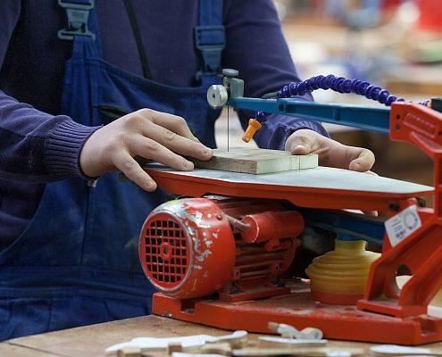 Produktionsschule.NRW Holz